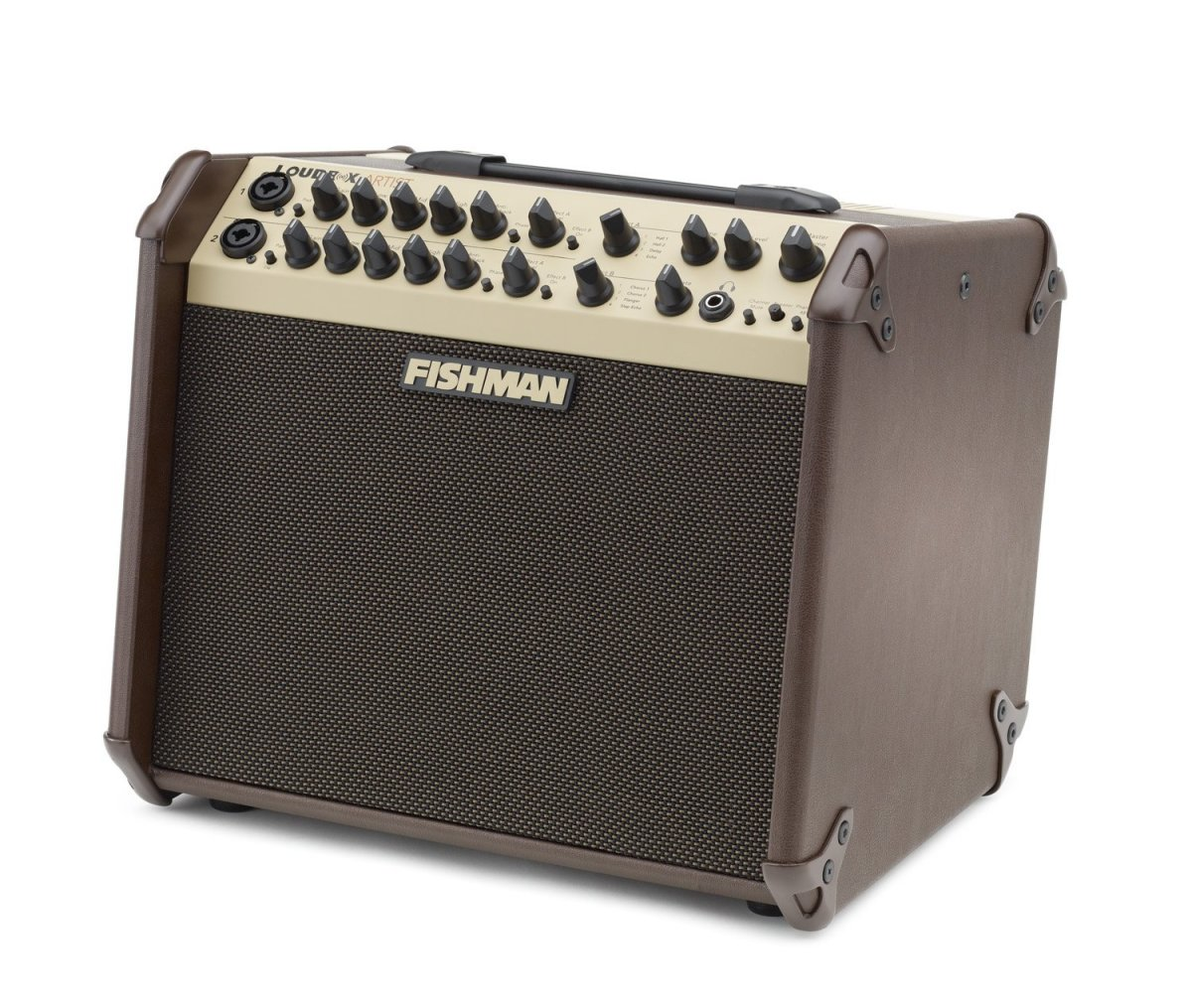 The Fishman Loudbox is one of the top acoustic guitar amps for gigs and home use.