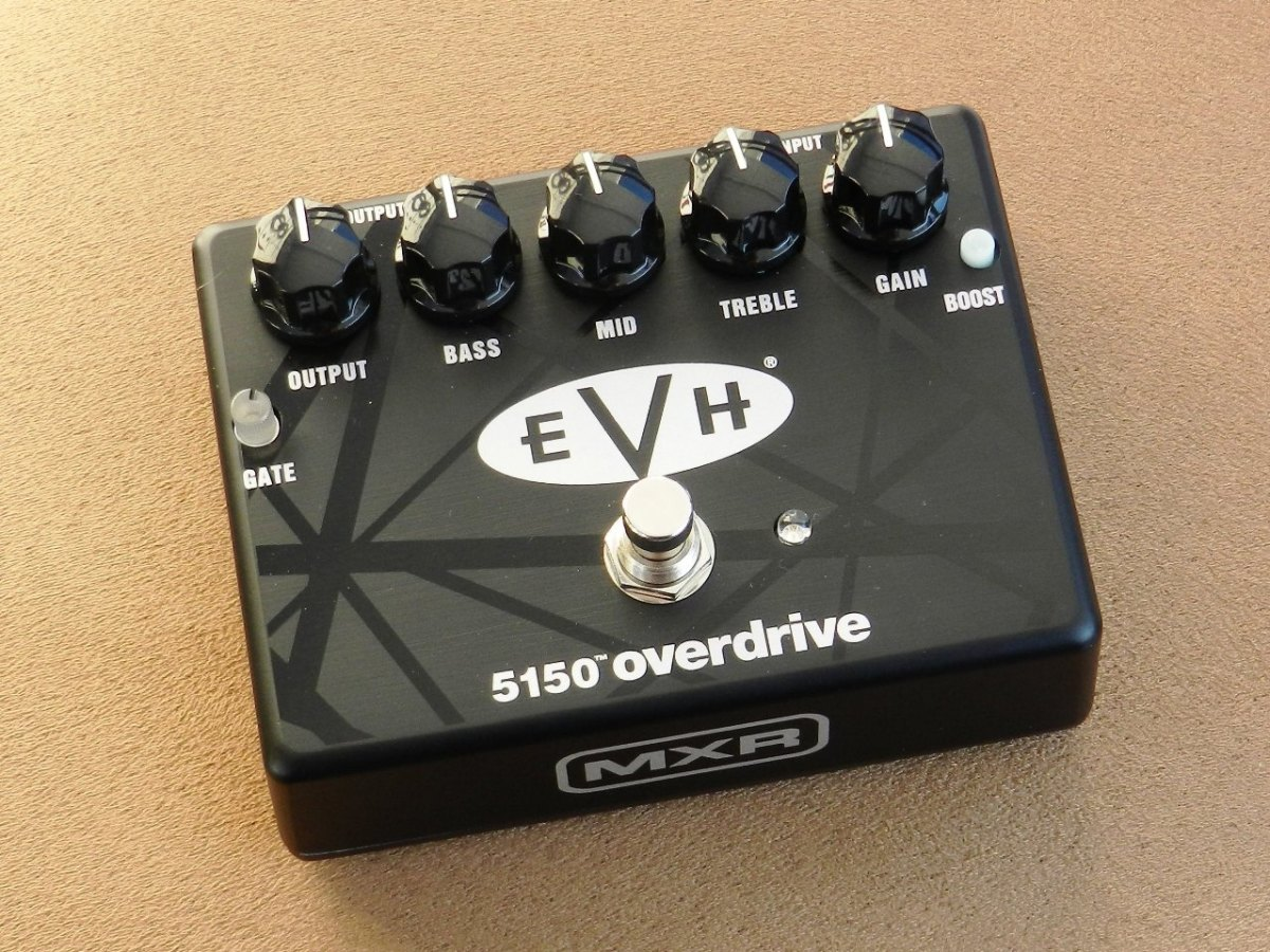 The EVH 5150 Overdrive lets you replicate Eddie's Brown Sound and so much more.