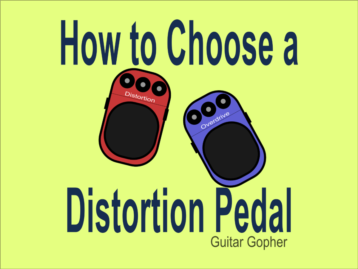 Choose the best distortion or overdrive pedal!