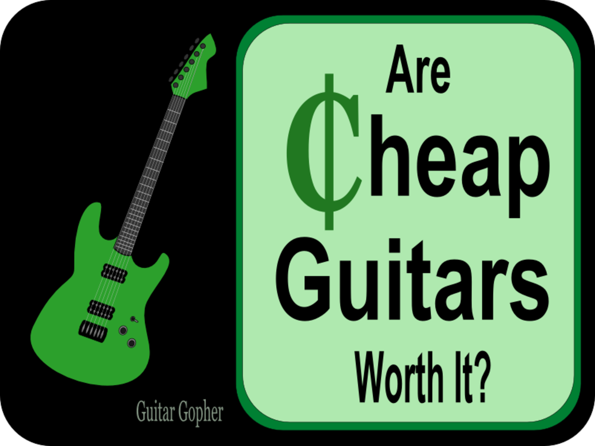 Should a beginner choose a super-low-cost guitar as their first instrument?