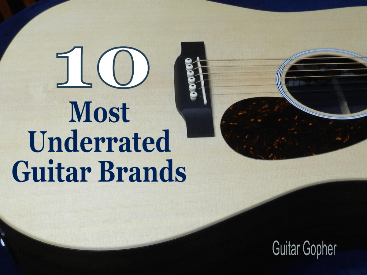 Underrated Acoustic and Electric Guitar Brands