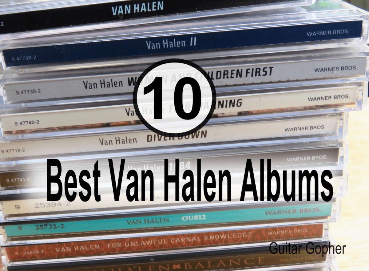 Top 10 Van Halen Albums Ranked