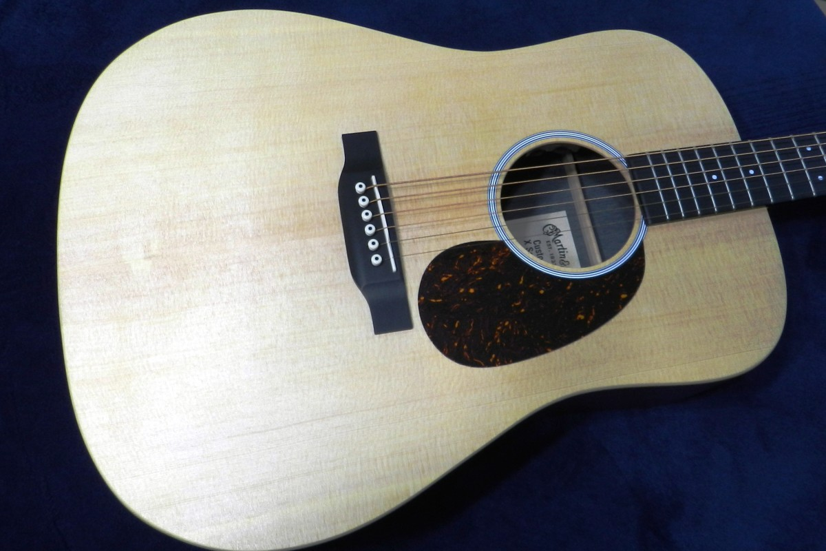 My Martin DX1AE Acoustic-Electric Guitar
