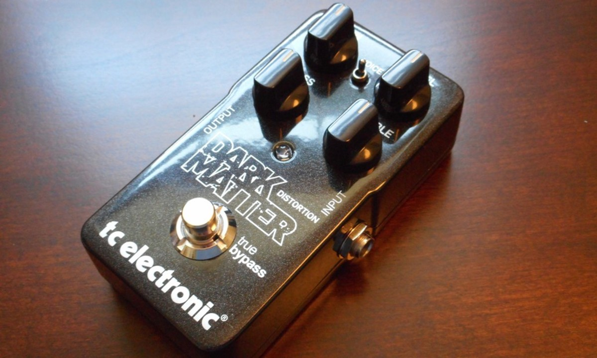 TC Electronic Dark Matter Distortion Pedal Review