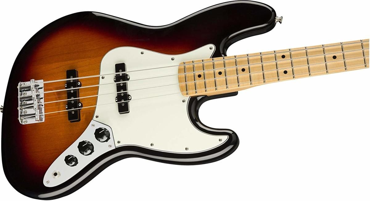 The Fender Player Jazz Bass is a great choice for mid-level musicians.