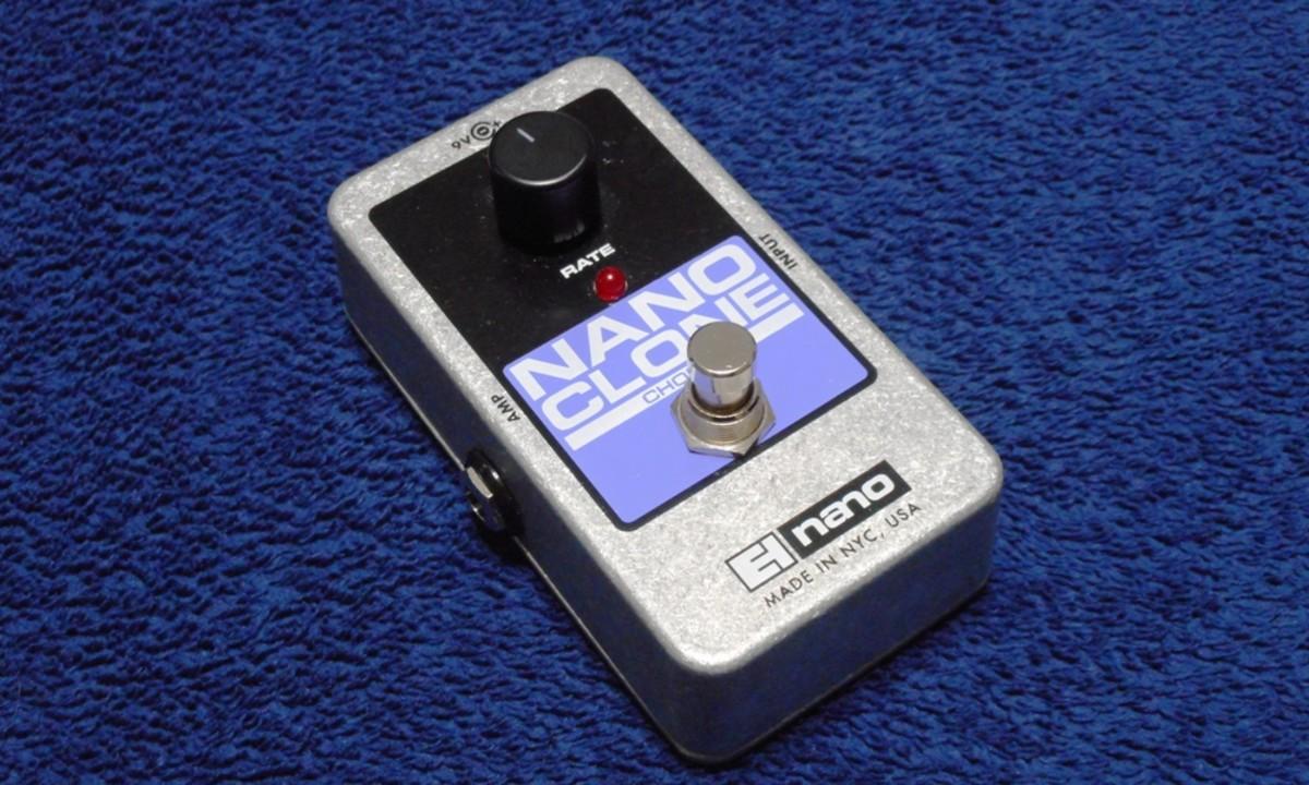 Electro-Harmonix Nano Clone Chorus Pedal Review