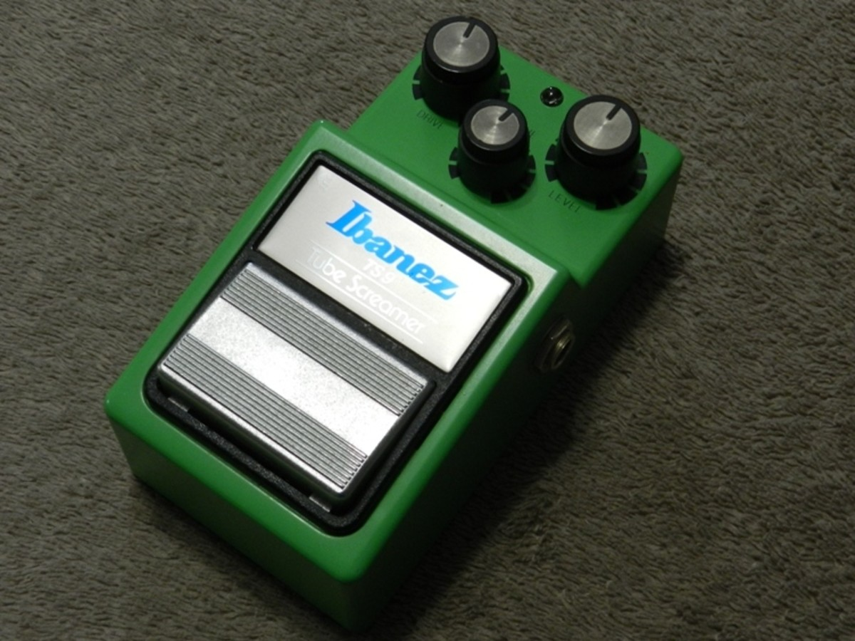 The Tube Screamer TS9 is a reissue of a classic overdrive pedal.