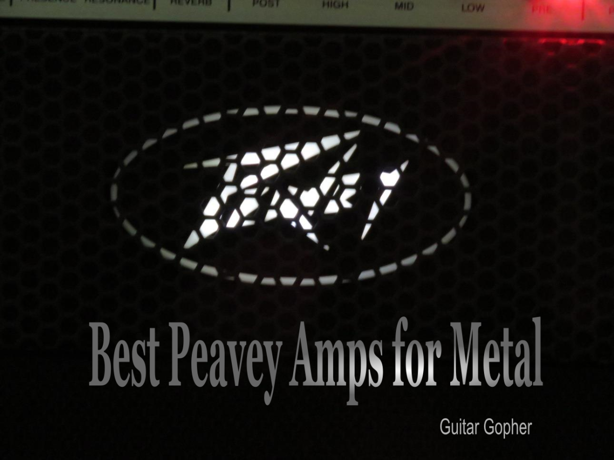 Peavey is a guitar amp brand that makes metal masterpieces.