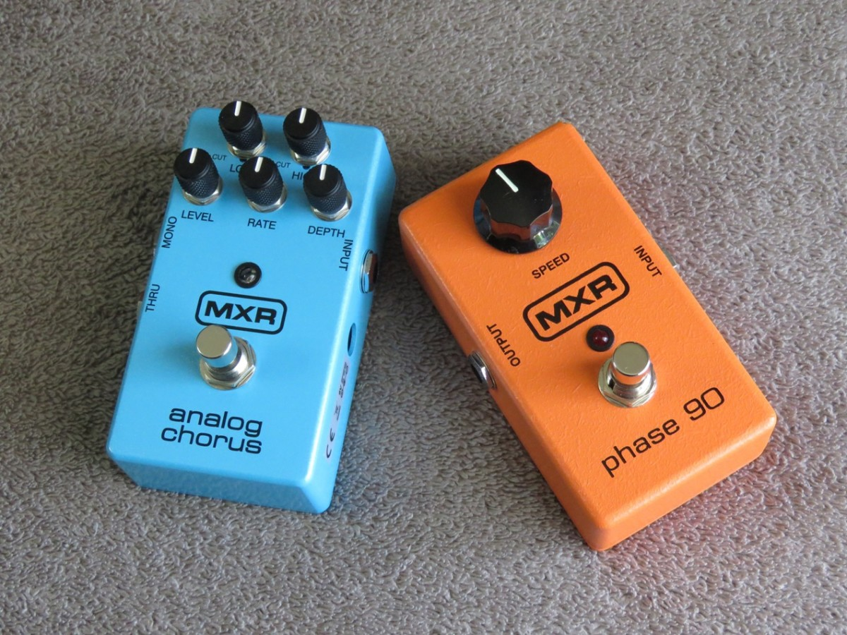 MXR Analog Chorus and Phase 90 Effects Pedals Review