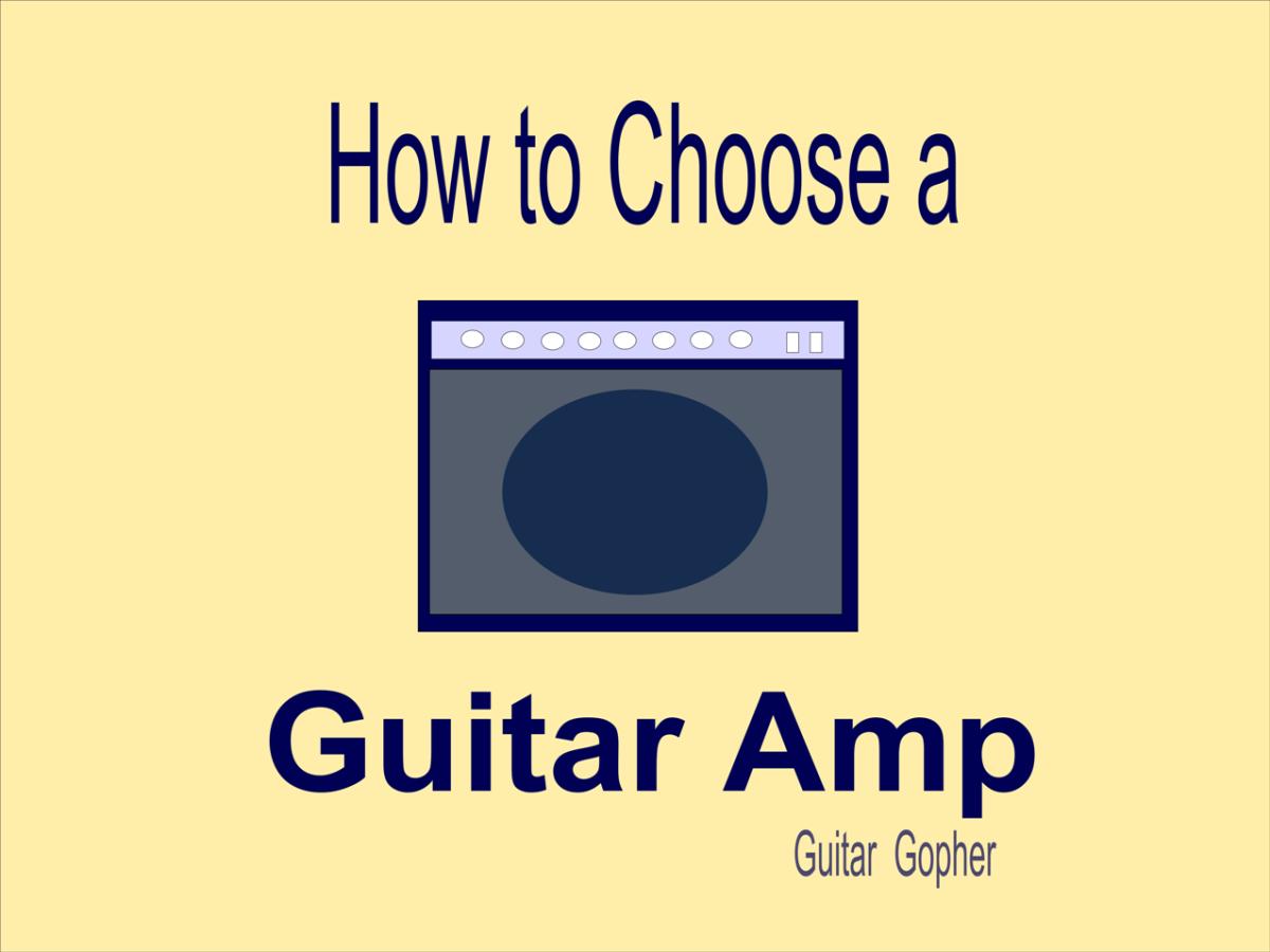 Advice on choosing a guitar amp for a beginner.