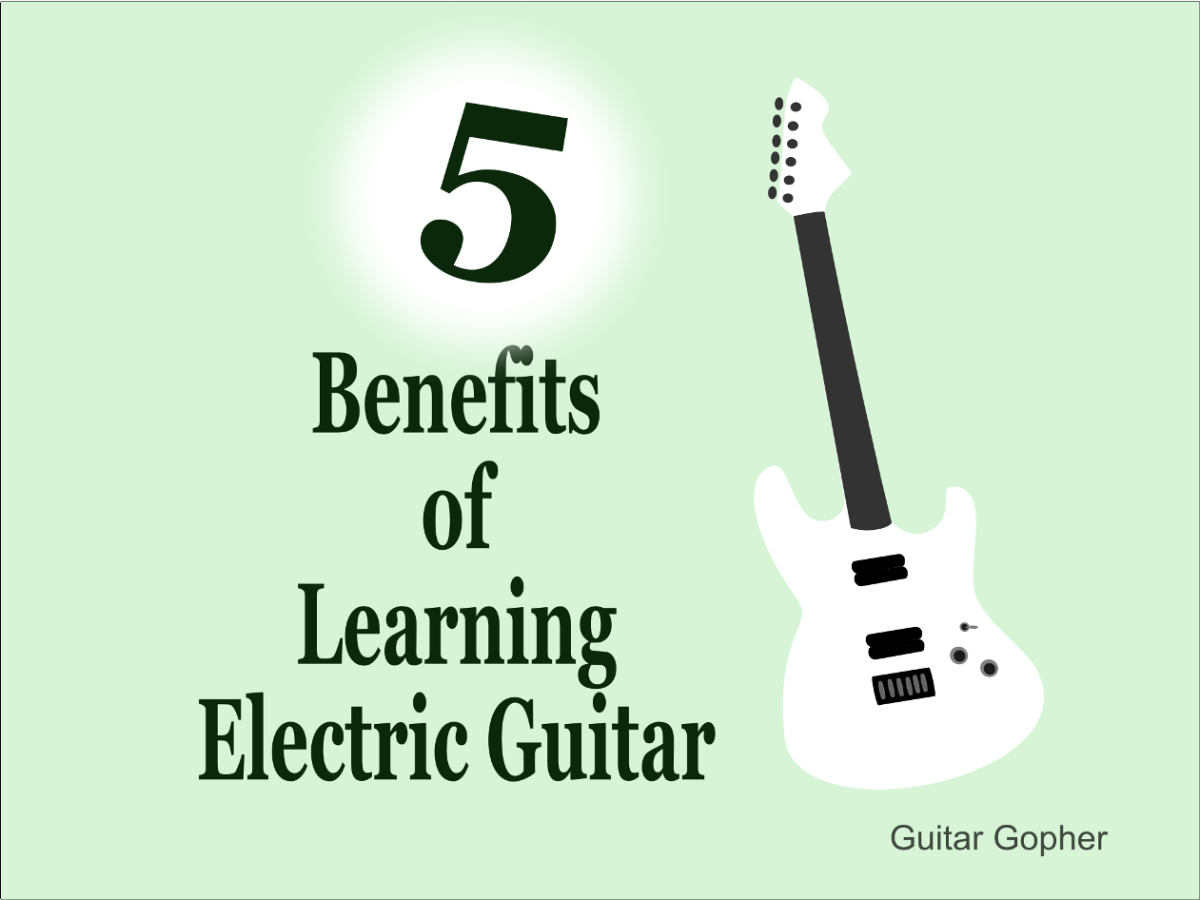 There are excellent reasons to go with an electric guitar as your first instrument!