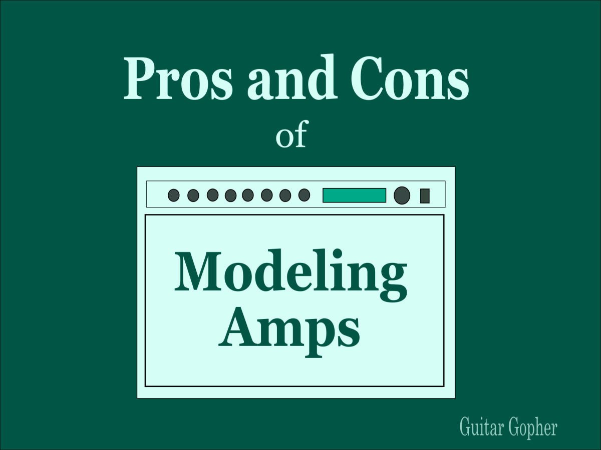 Guitar modeling amps have many pros and cons.