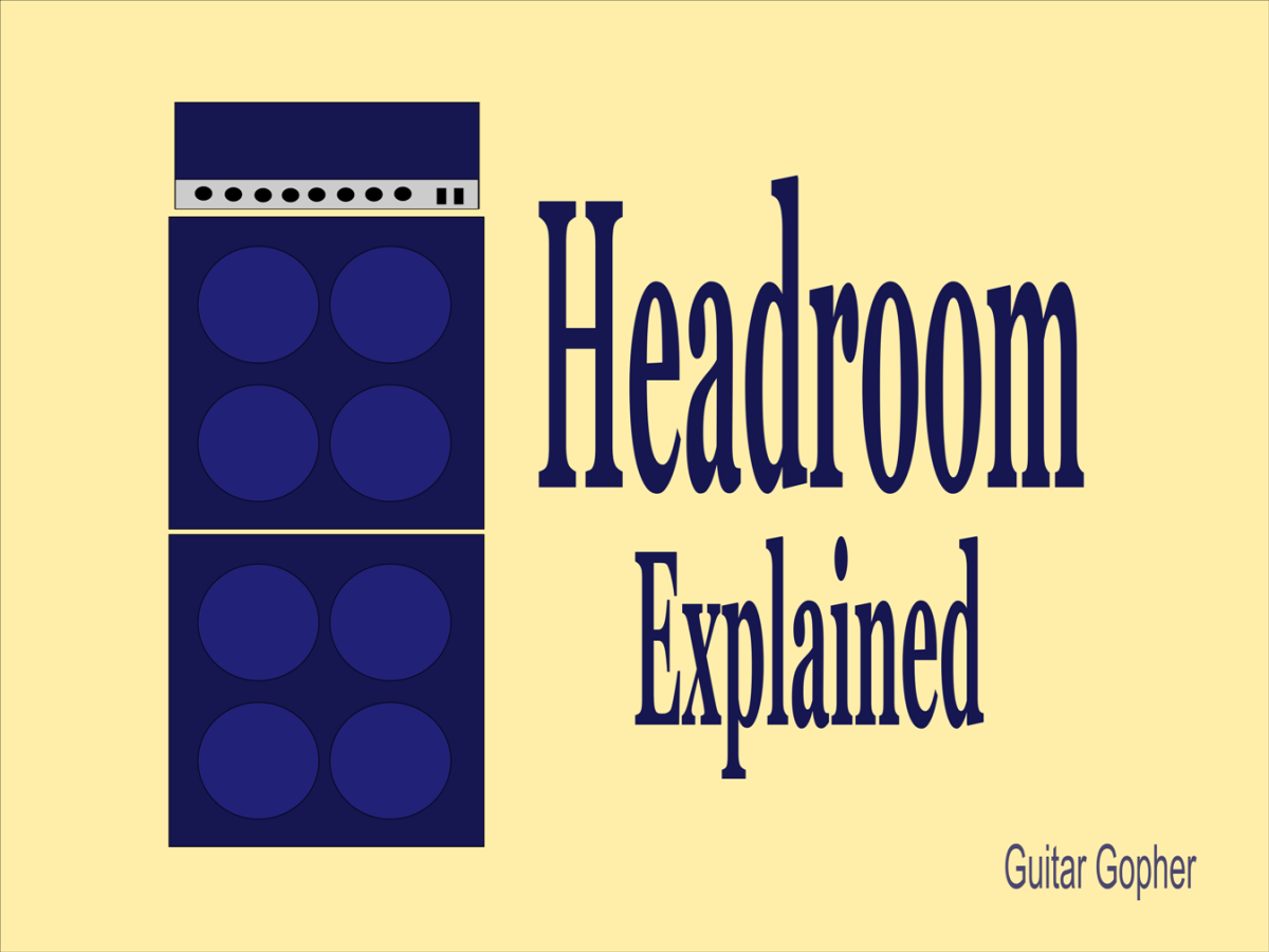 Headroom for guitar and bass amplifiers explained.