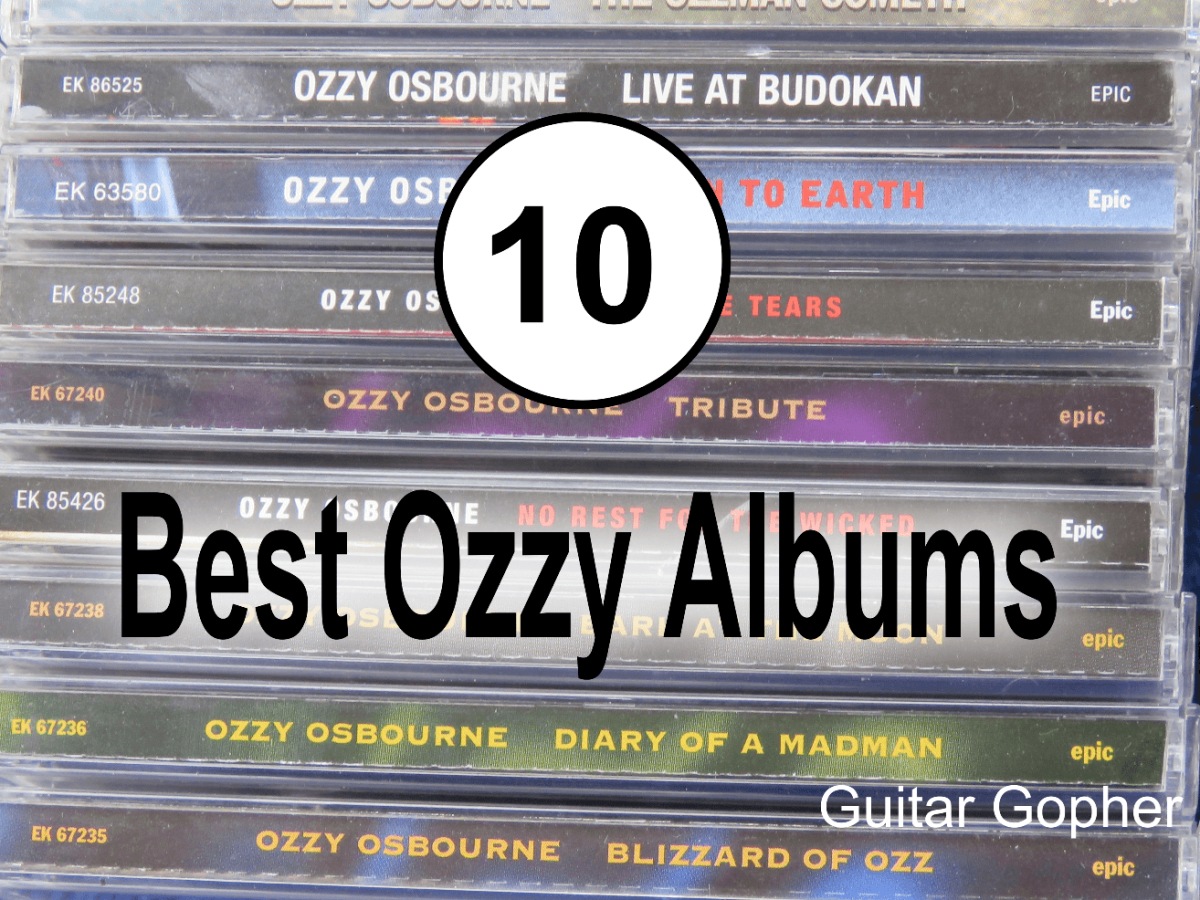 Top 10 Ozzy Osbourne Albums Ranked