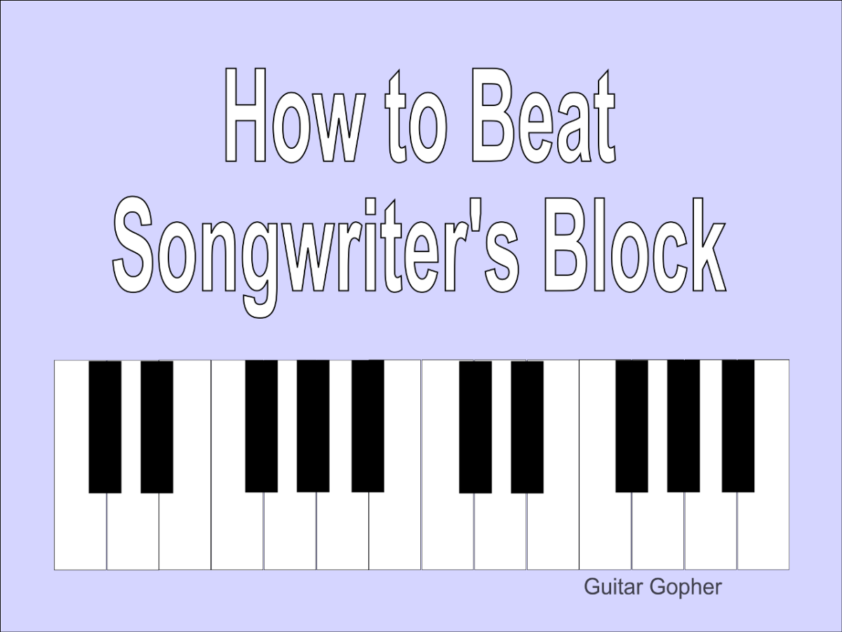 Learn five approaches to songwriting that can help you beat songwriter's block.
