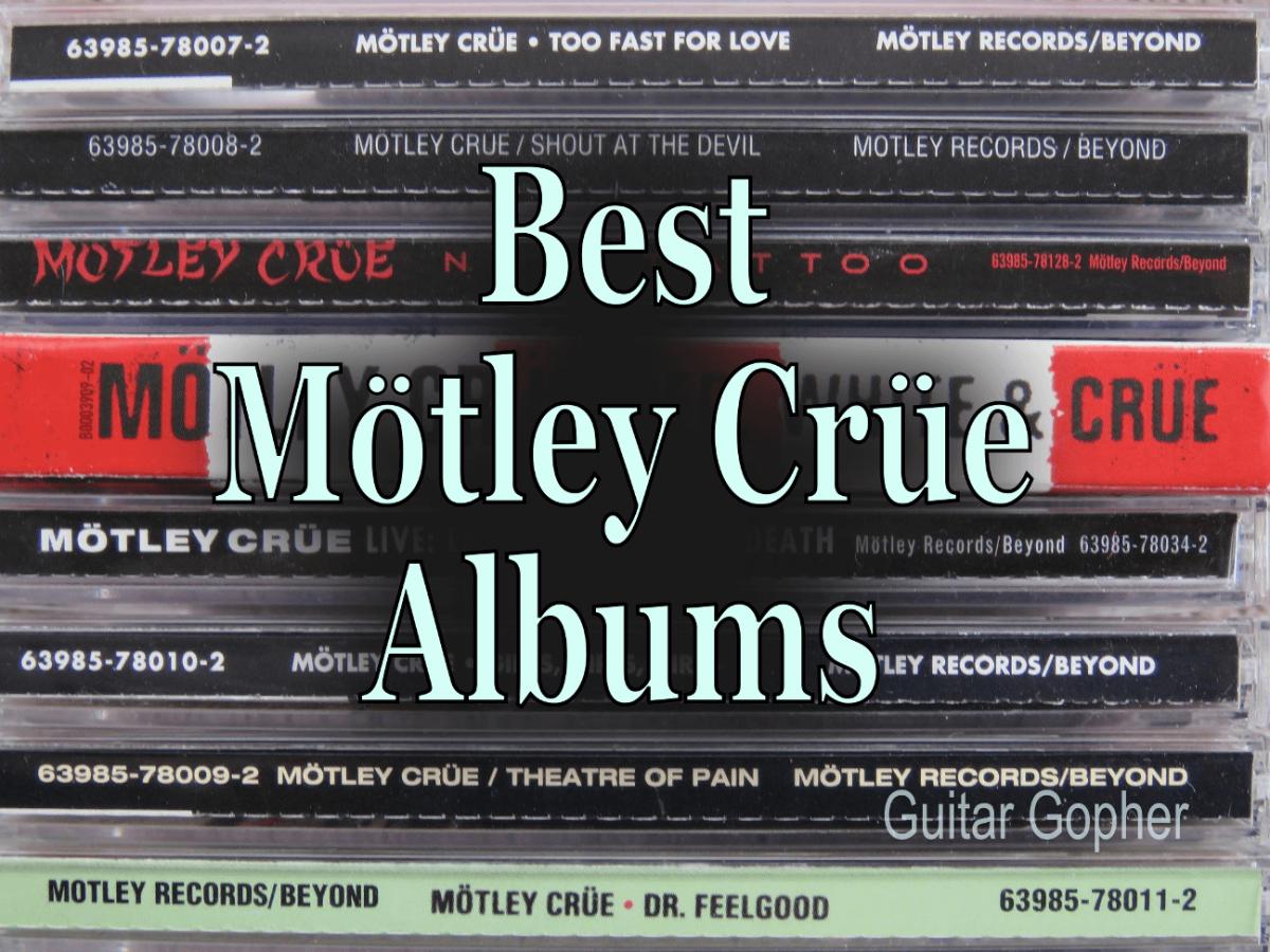 motley crue discography in order