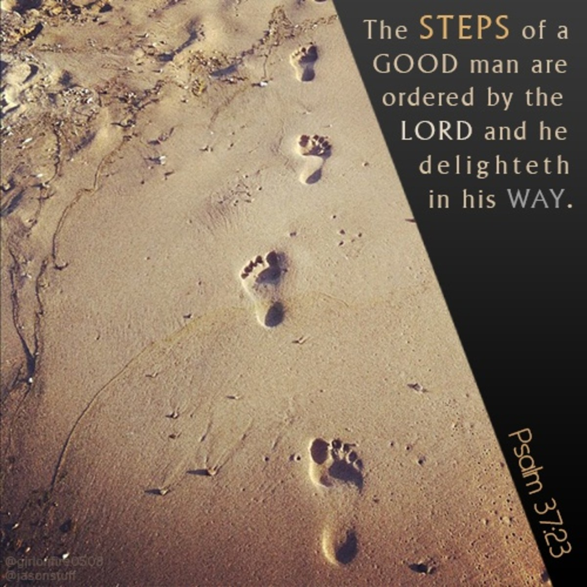 God guides us everywhere we go.