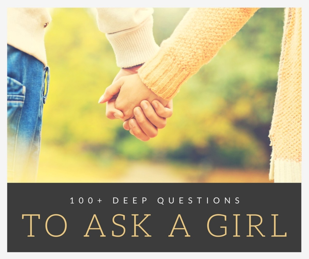 Thought provoking questions to ask a woman