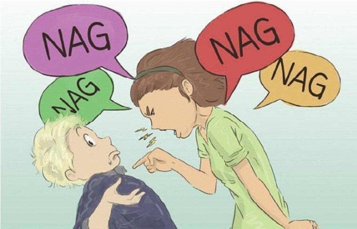 Stop nagging meaning
