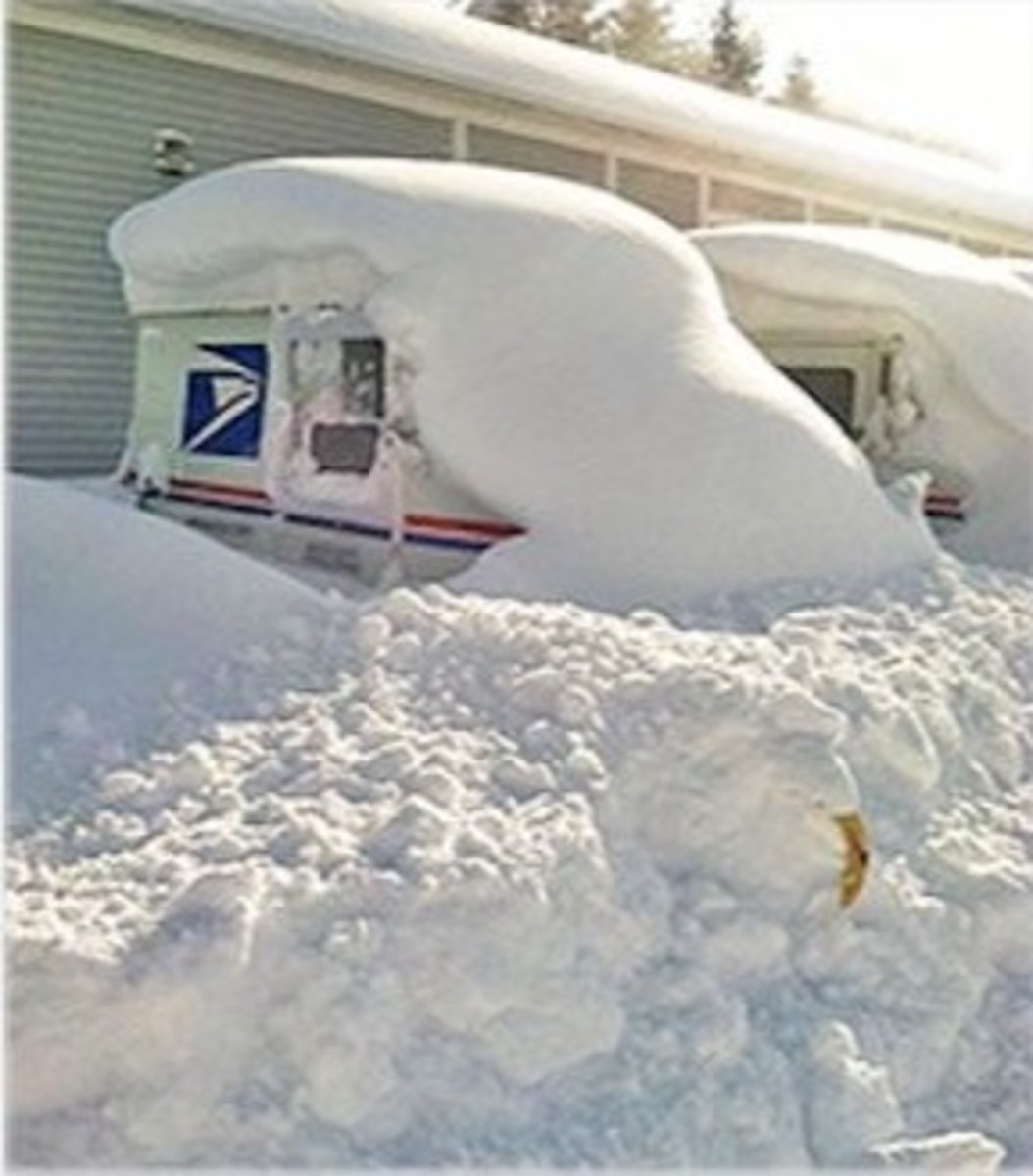 Are you chilled by news of the postal hiring freeze?  Dig out!