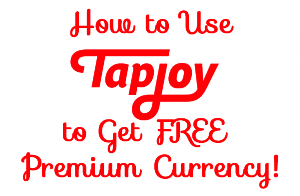 How to Get Free Diamonds, Jewels, Gems and Other Premium Currency with the TapJoy App!
