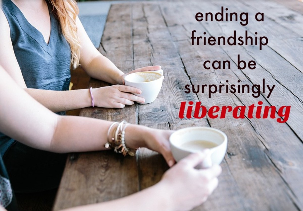 Ending a friendship can be awkward and sad, but it can also free us from a bond that's keeping us stuck.
