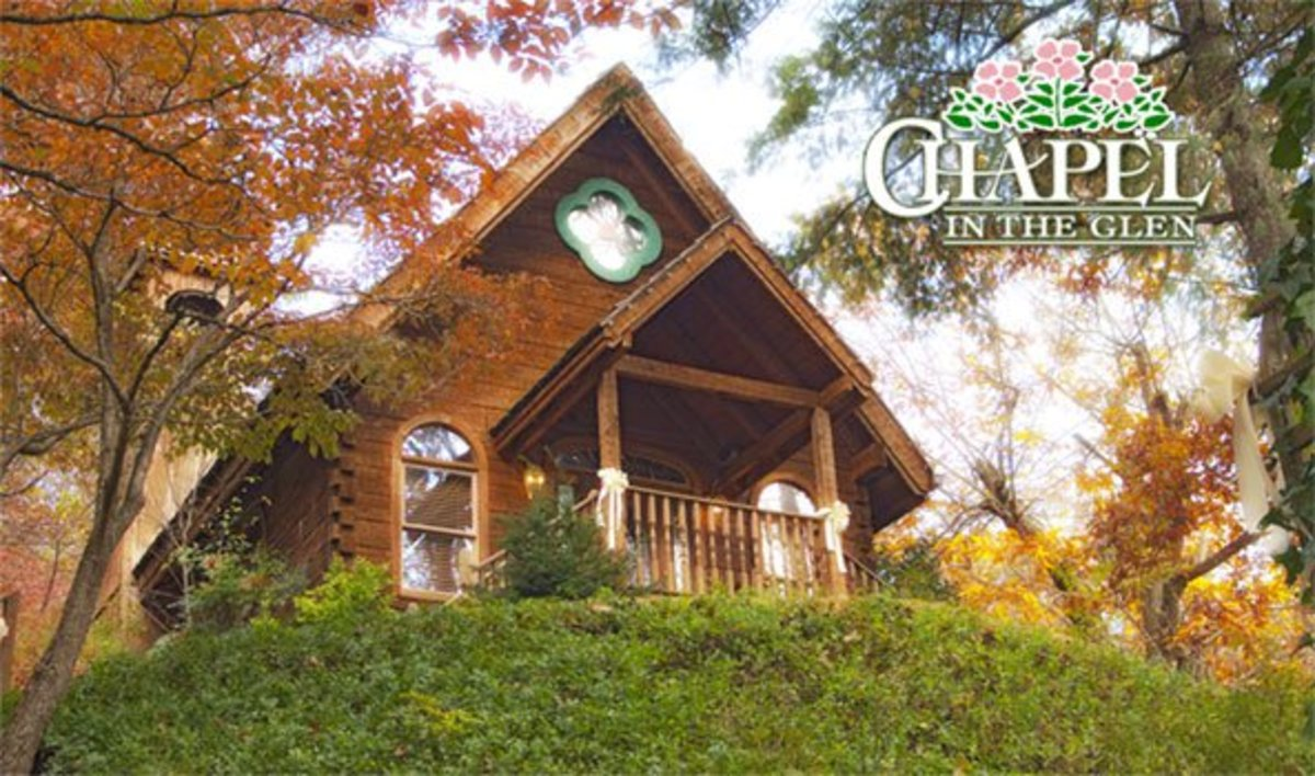 7 of the best wedding chapels in gatlinburg tennessee holidappy