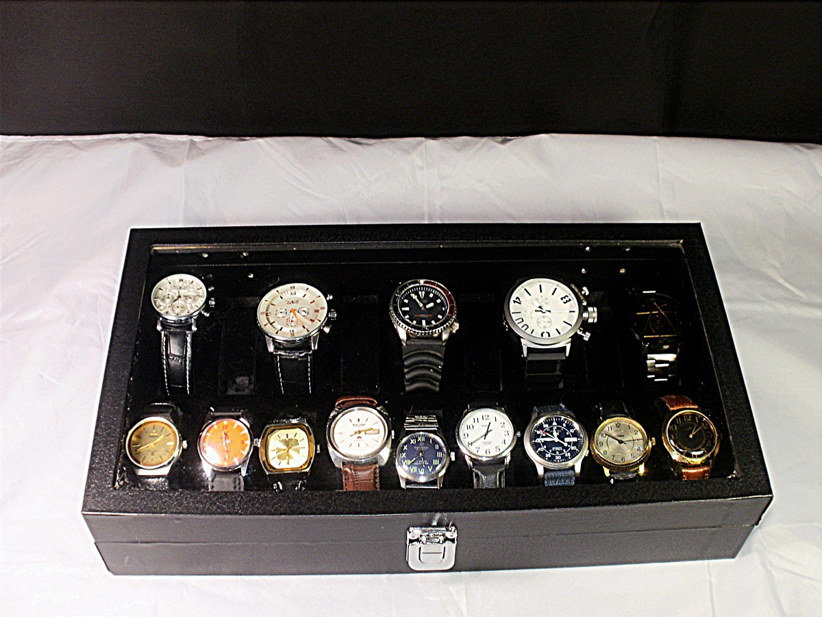 Review of the Diplomat 31-586 Watch Display Case