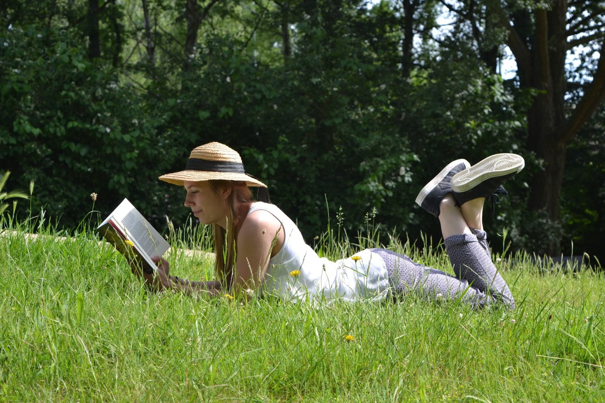 Put down the TV remote and head outside with a good book.