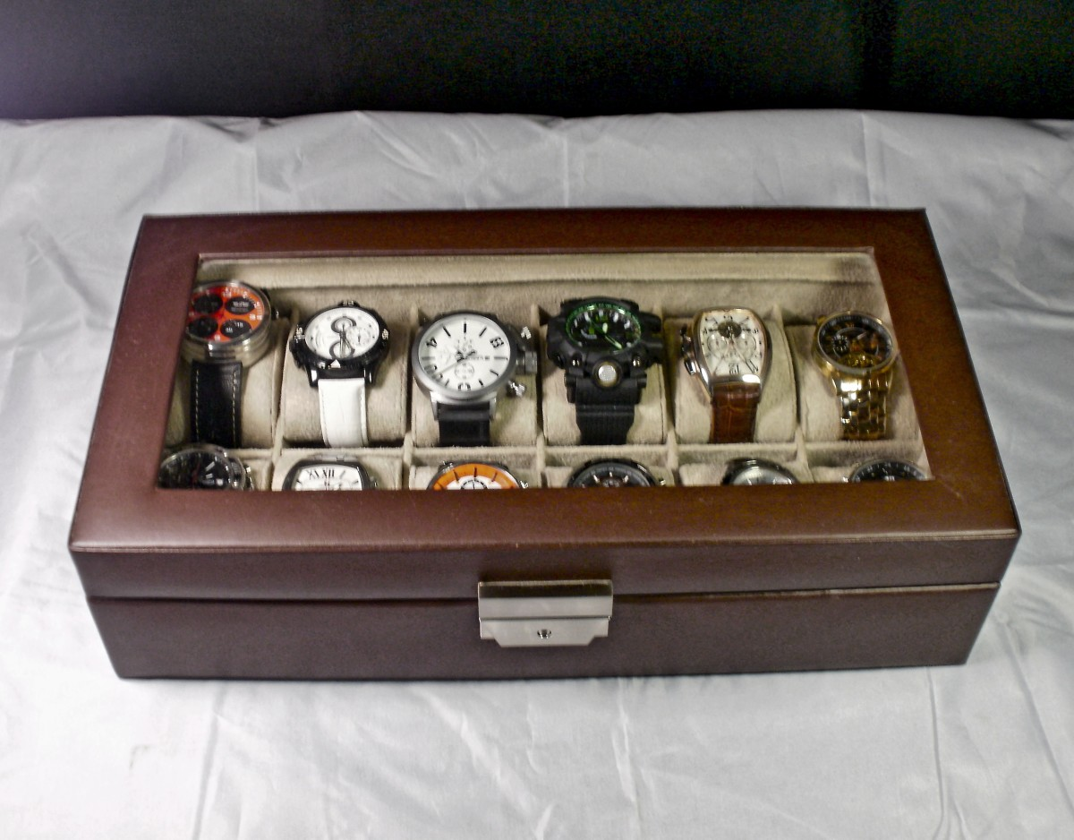Review of the Tech Swiss TS5850BRN Large Watch Box