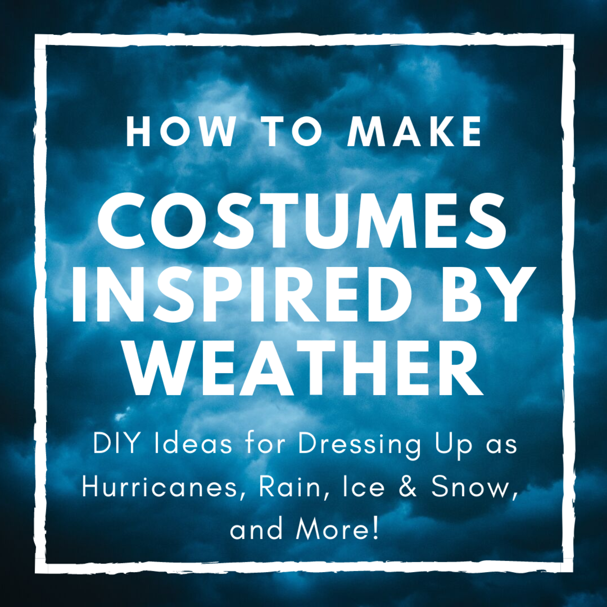 Weather Costume Ideas for Halloween Fun