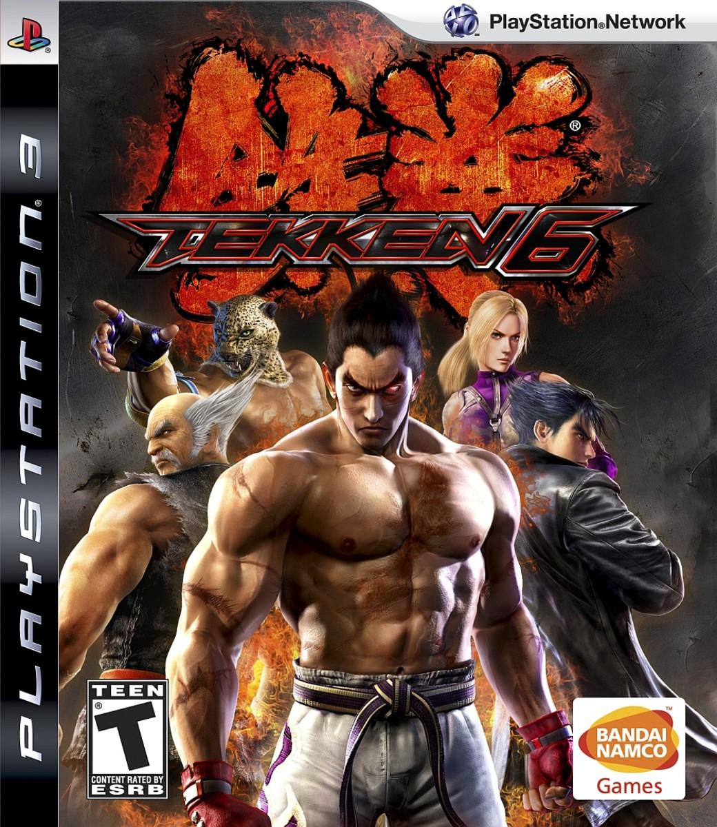 Tekken 6 cover for the PS3