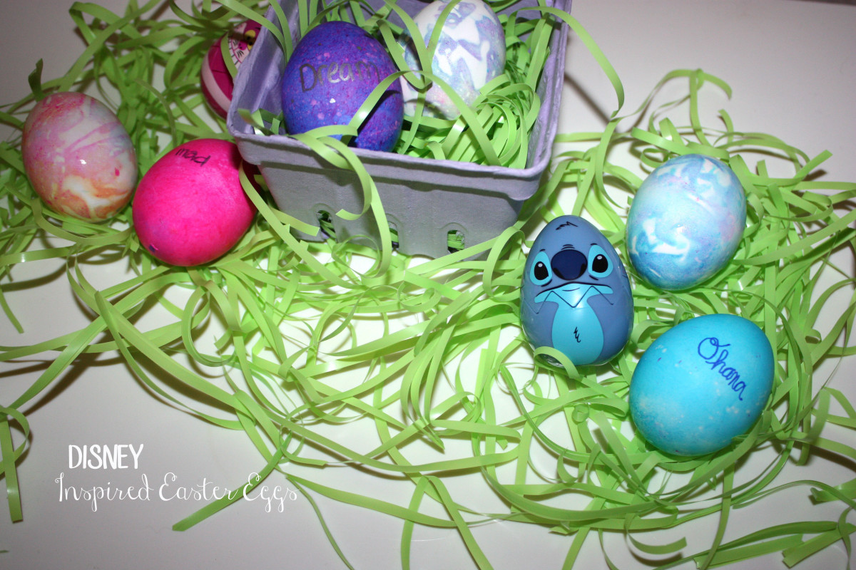 Disney Inspired Easter Eggs
