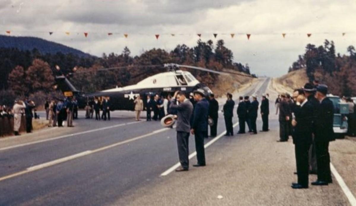 President Kennedy Visits Poteau
