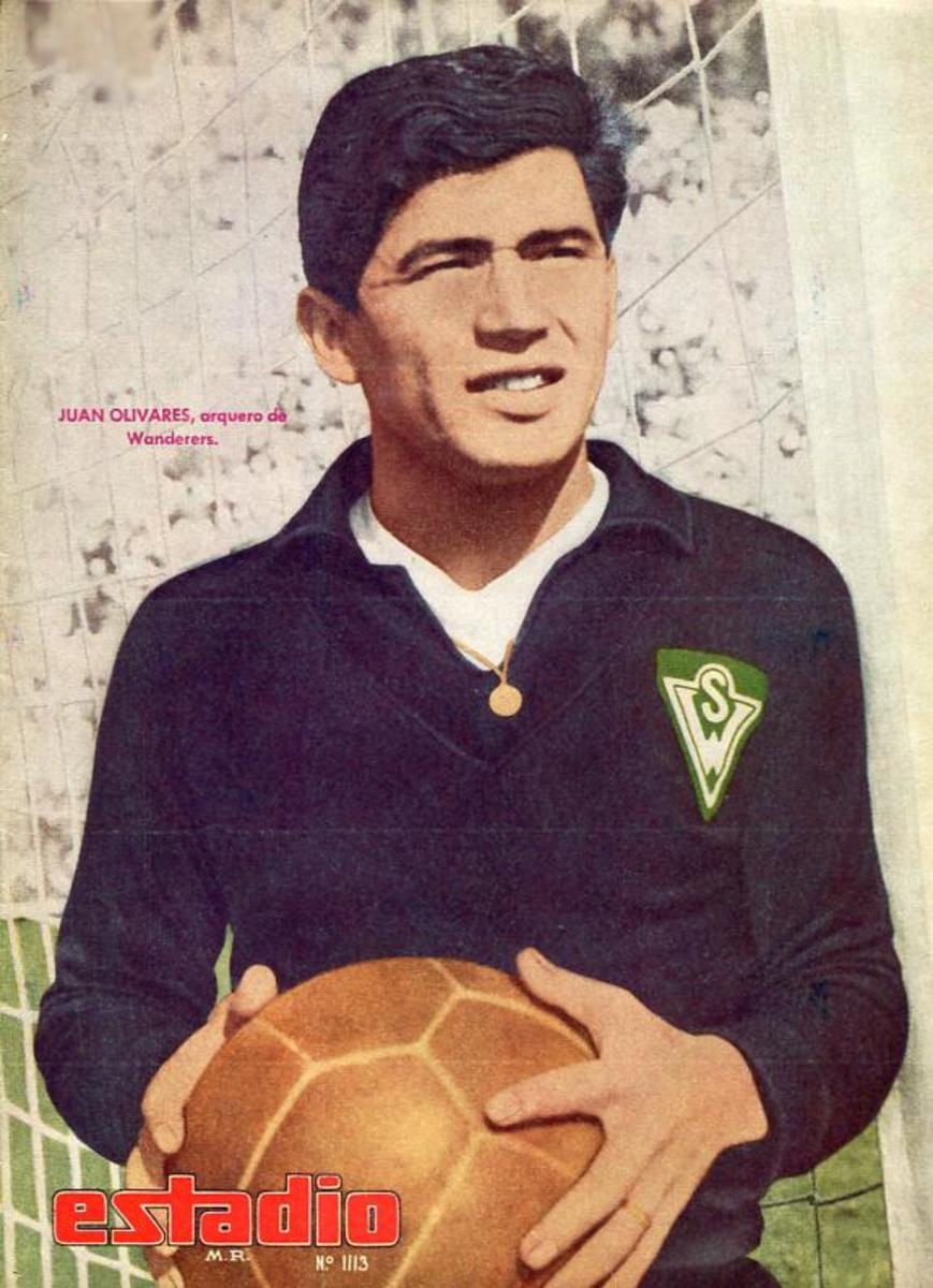 Juan Olivares was part of the Chilean squad for the 1966 and 1974 World Cups.