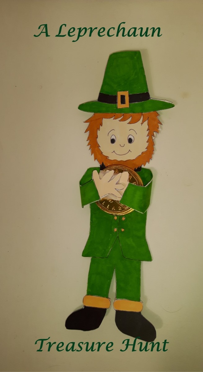 A leprechaun treasure hunt