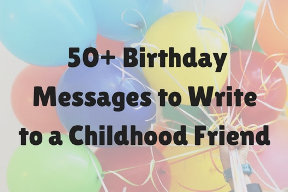 50+ Best Birthday Messages for Childhood Friends