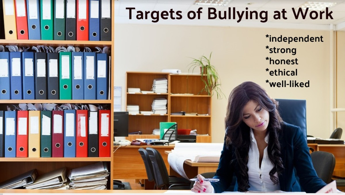 Contrary to popular belief, bullies don't target those who are weak and mousy.
