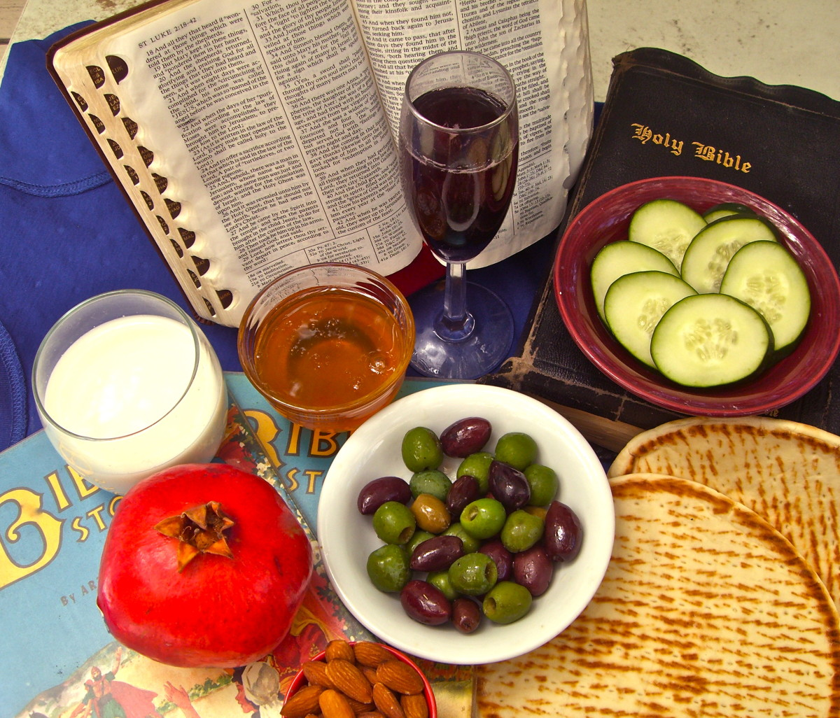 Eating Customs in the Bible