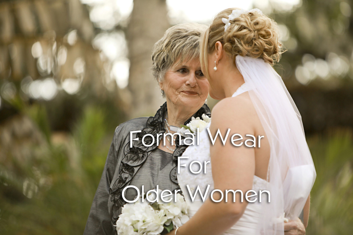 Formal Wear for Older Women
