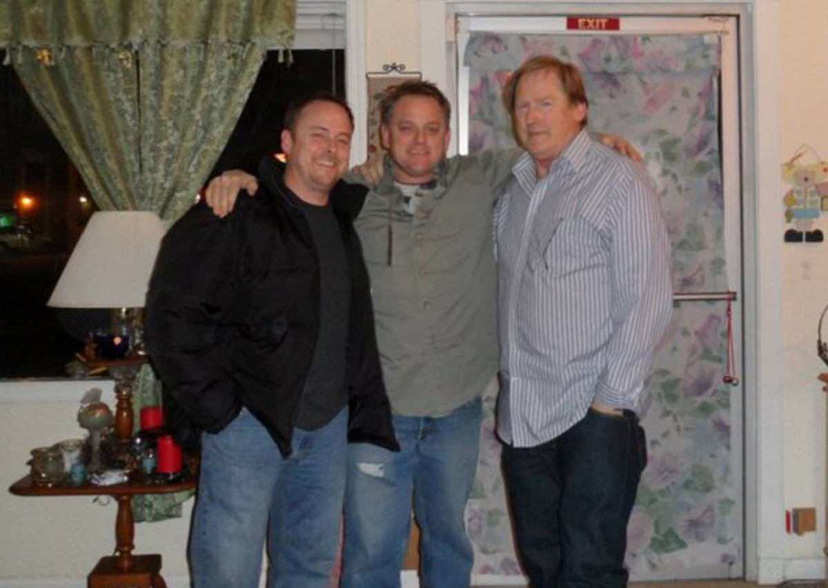 My husband, his brother and their Father. His father passed away on June 20, 2016