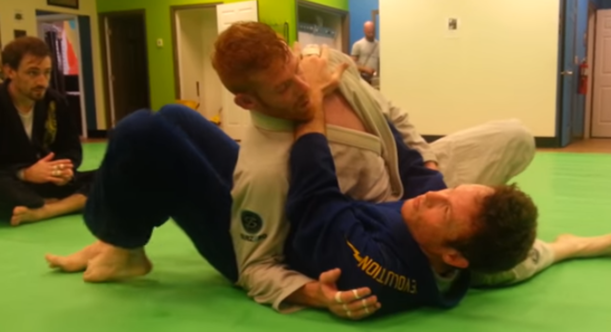 How to Escape Side Control: Modified Kesa Gatame