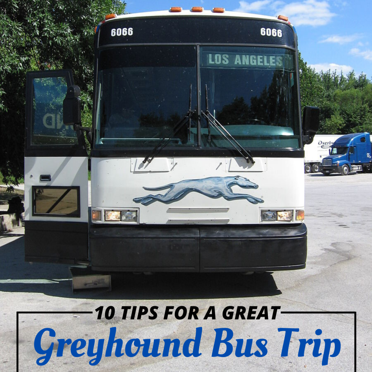 10 Tips for Your First Greyhound Bus Trip