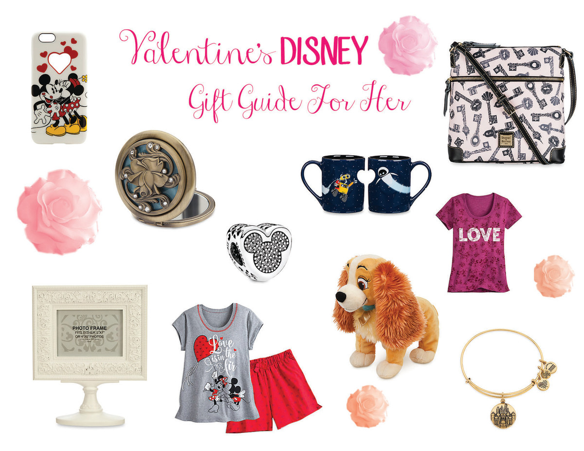 Valentine's Disney Gift Guide For Her