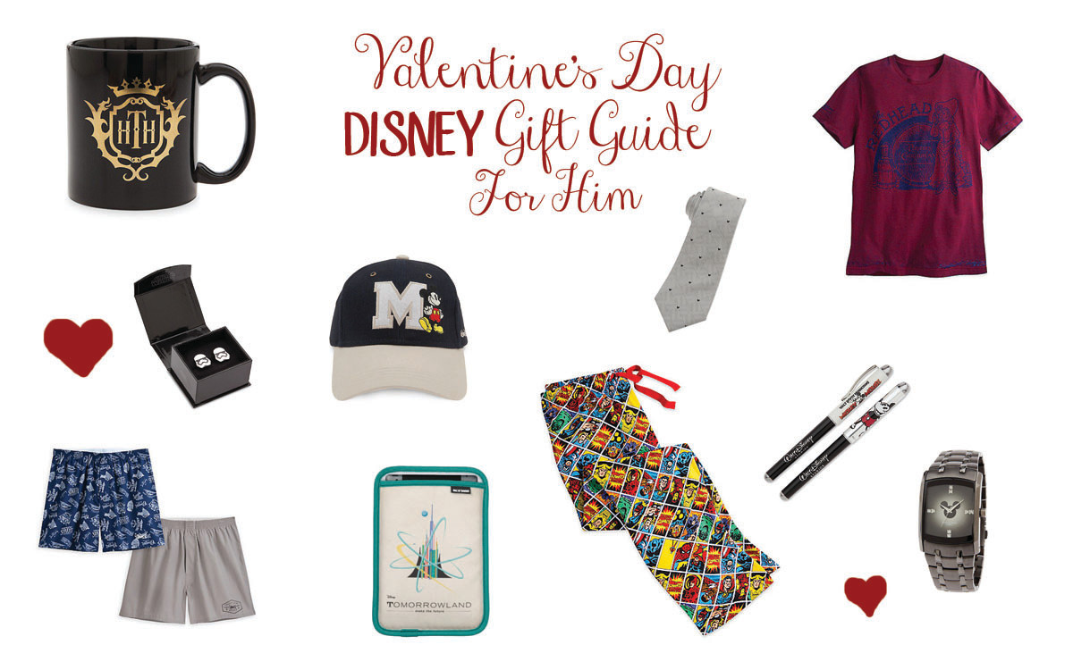 Valentine's Disney Gift Guide for Him
