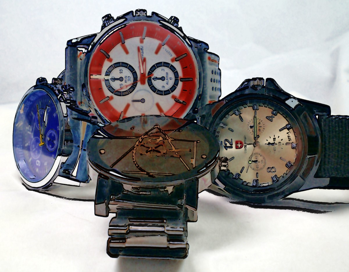 Battle of the Five Dollar Watches