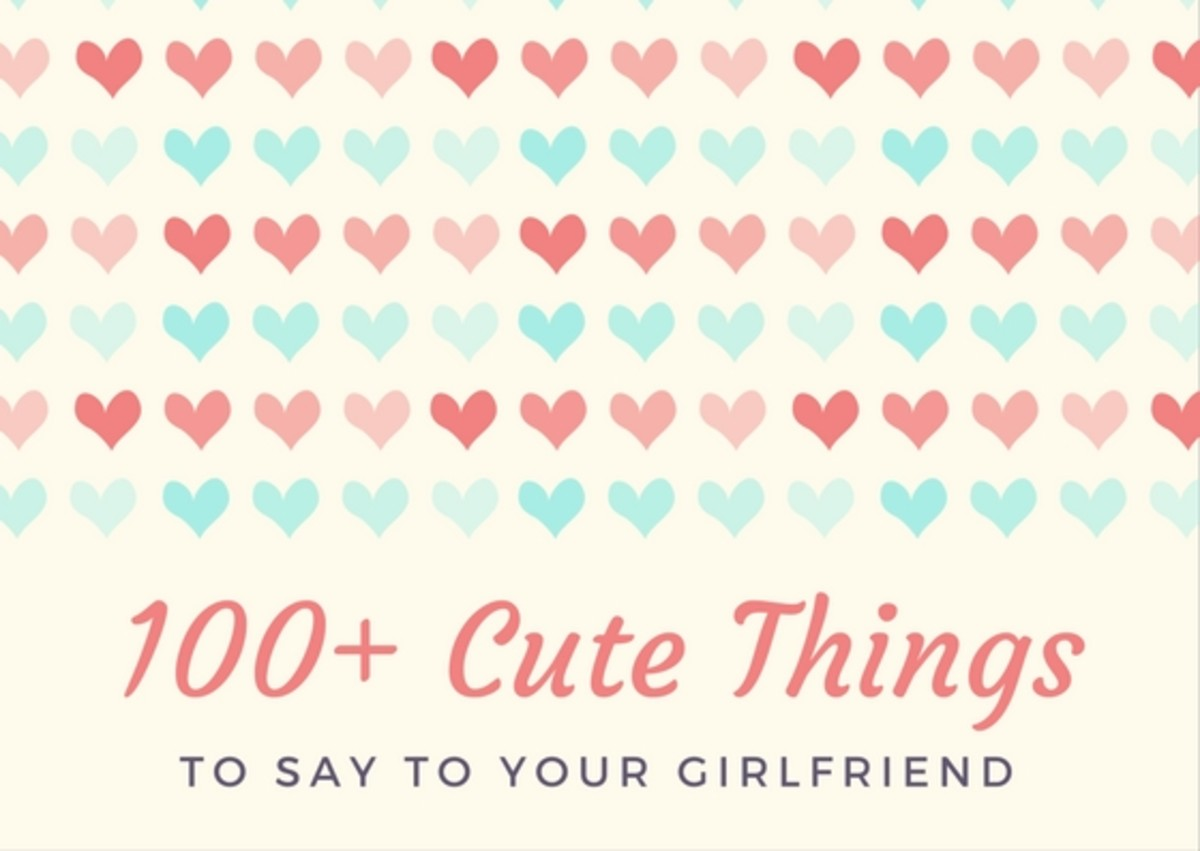 Things to say to a girl you are dating
