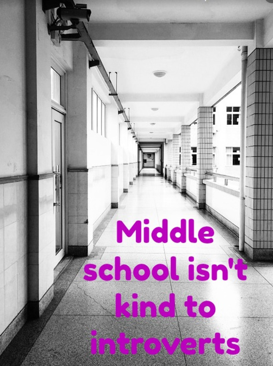 Although the student body can be 50% introverts, middle schools do little to serve this population.