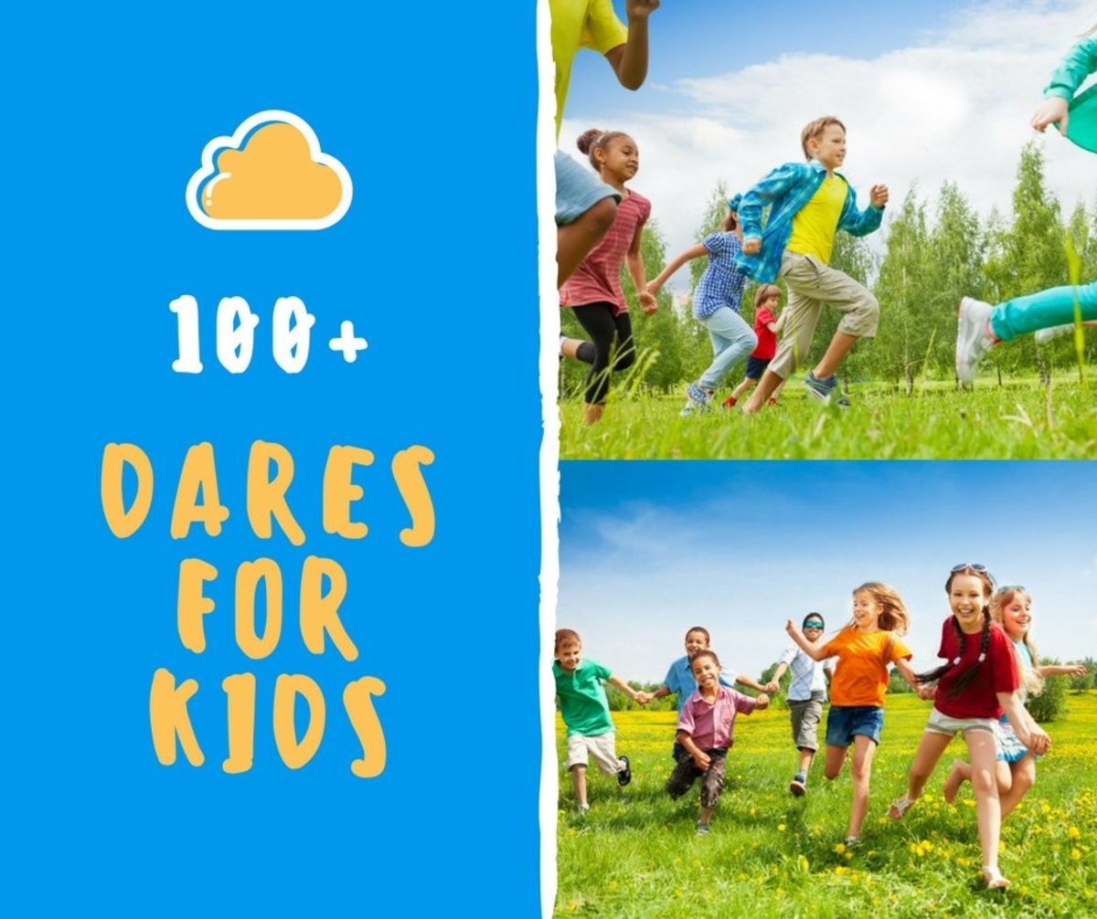 100+ Fun Dares for Kids to Do