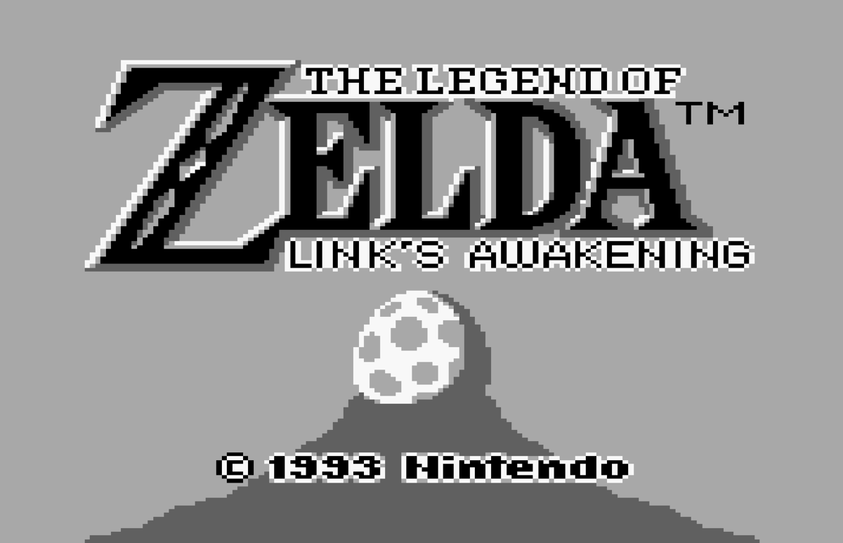 The Legend of Zelda - Link's Awakening Released for the Nintendo GameBoy